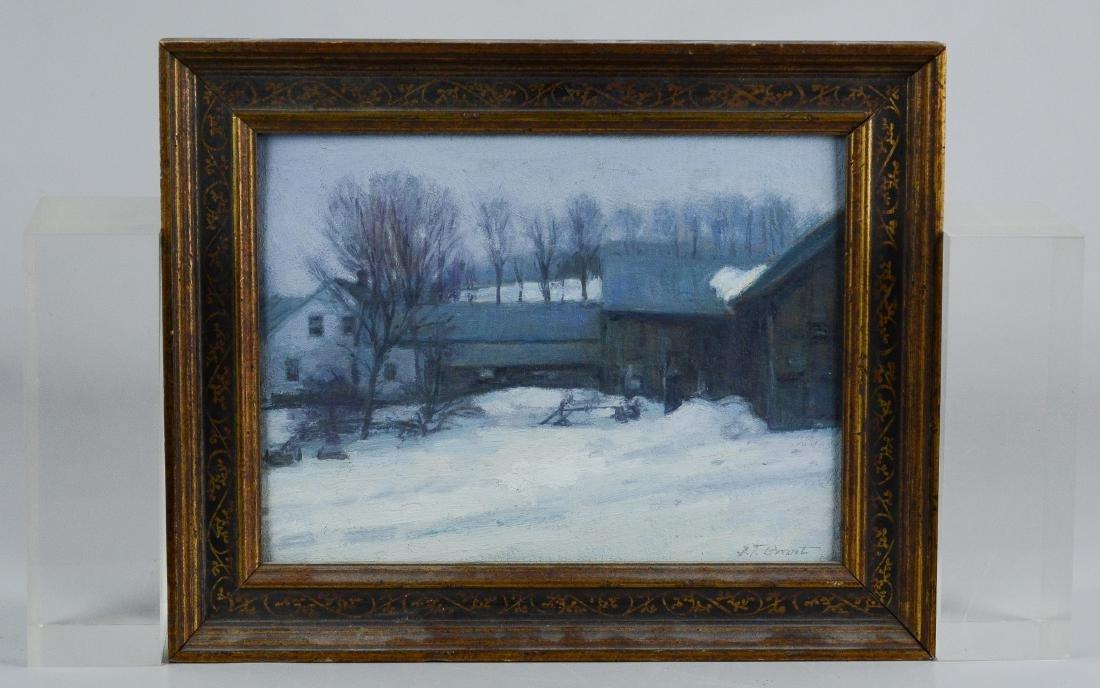 ST Grant winter landscape painting - 2