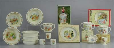 17 pcs Royal Doulton Bunnykins porcelain
