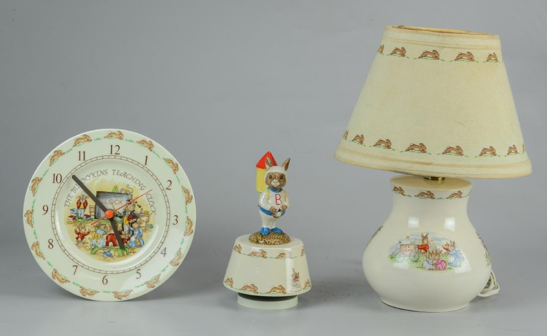 (3) pcs Royal Doulton Bunnykins porcelain