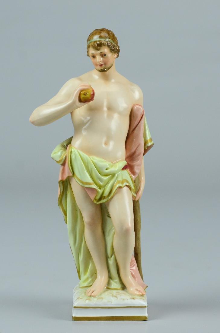 KPM porcelain Classical man figurine