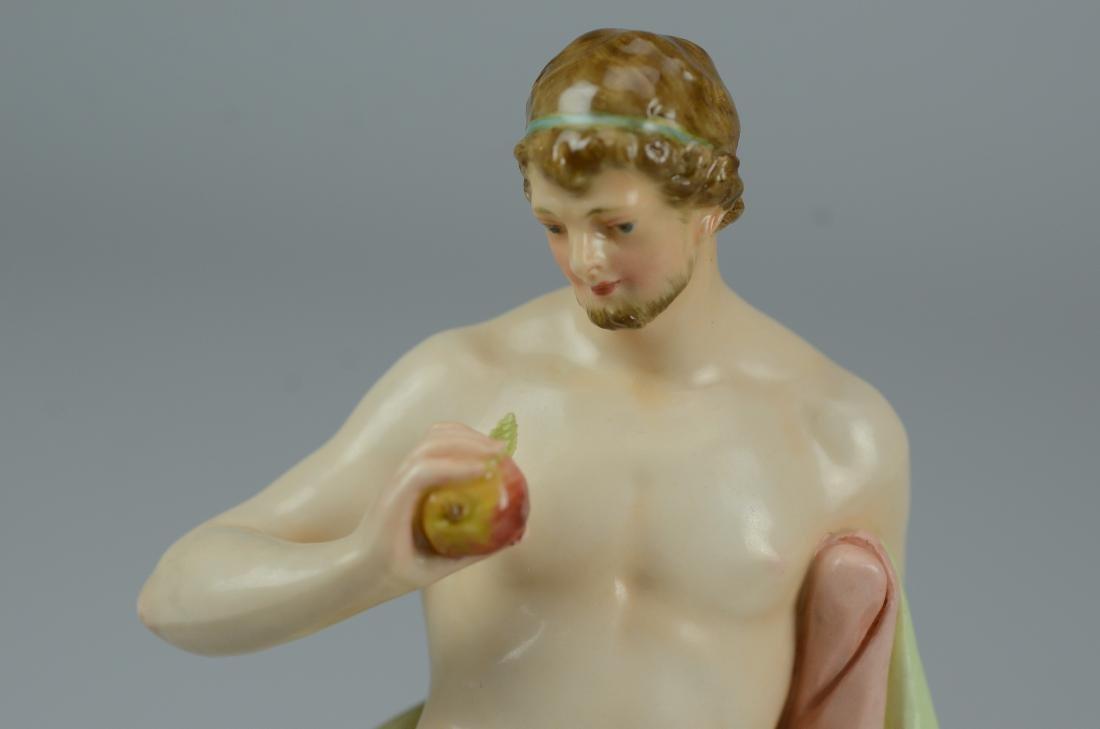 KPM porcelain Classical man figurine - 3