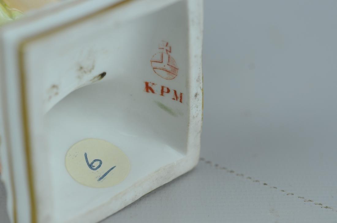 KPM porcelain Classical man figurine - 5