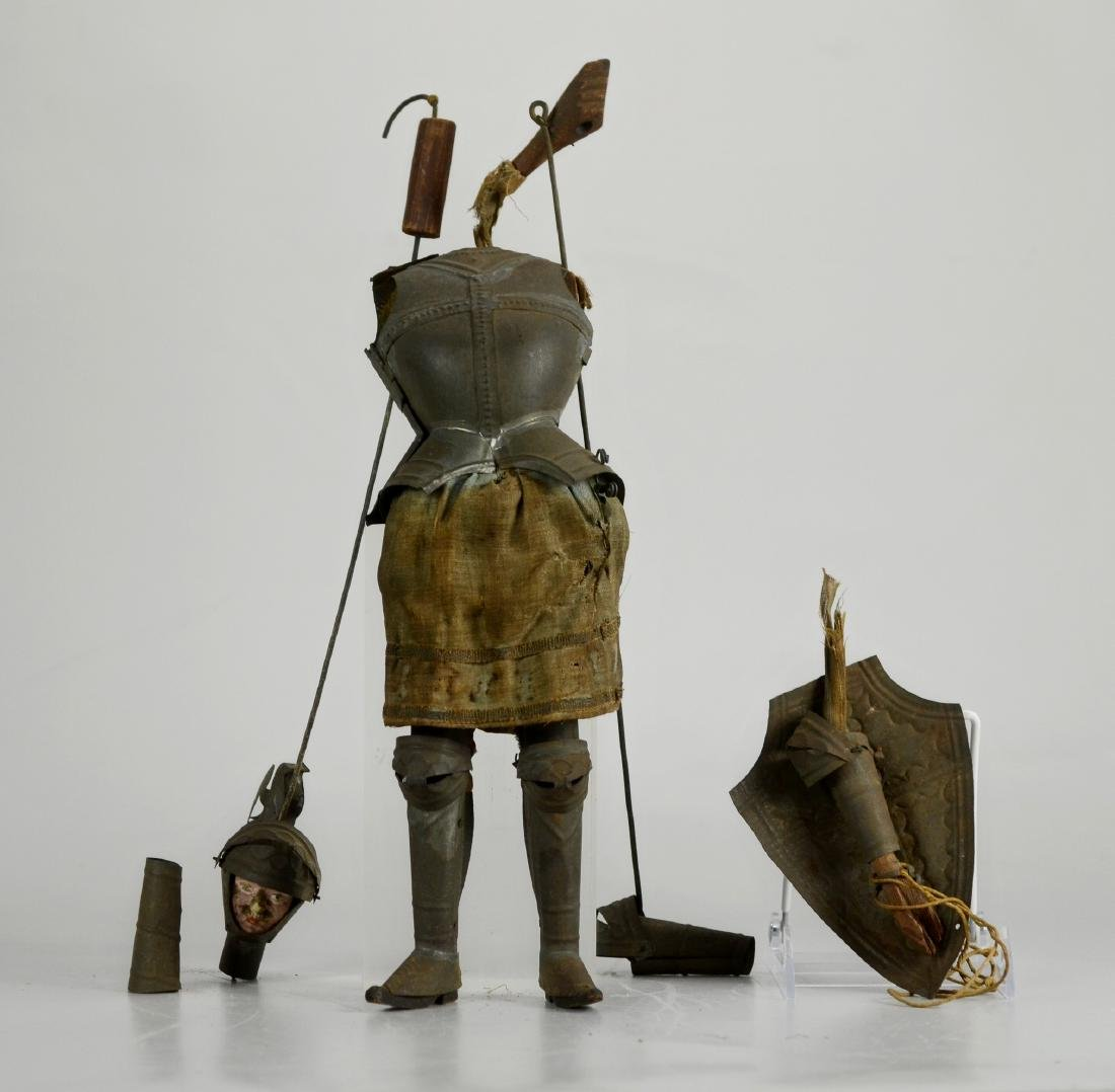 Knight marionette, needs reassembly
