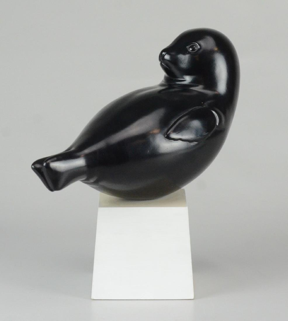 Alva Baby Seal sculpture - 2