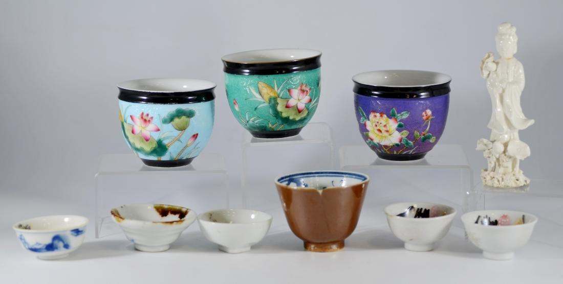 (10) Pcs Asian porcelain