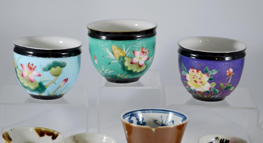 (10) Pcs Asian porcelain - 2