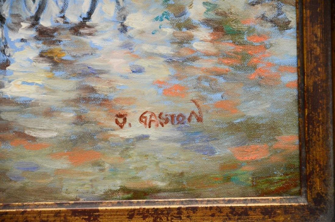 Contemporary painting of a Paris street scene - 3