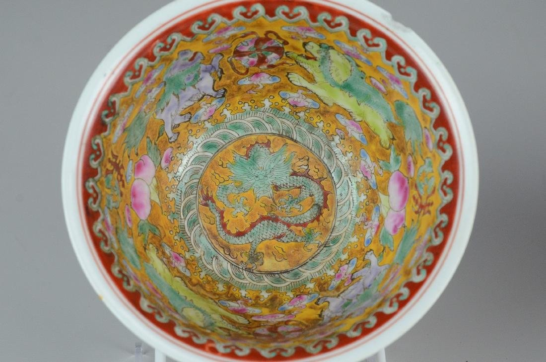 (3) Pcs Chinese porcelain - 3