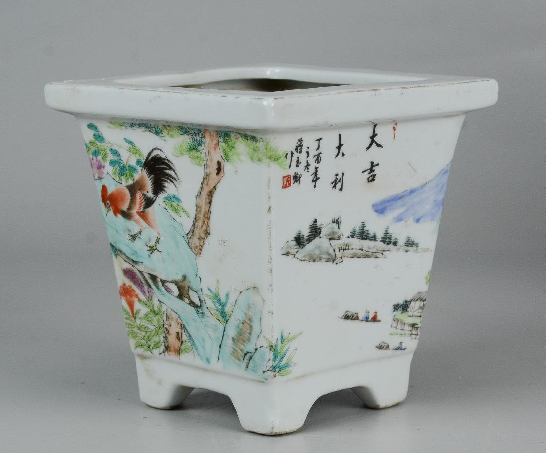 (3) Pcs Chinese porcelain - 9
