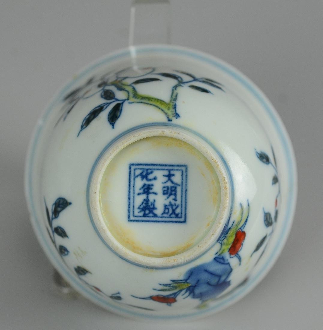 (3) Pcs Chinese porcelain - 3