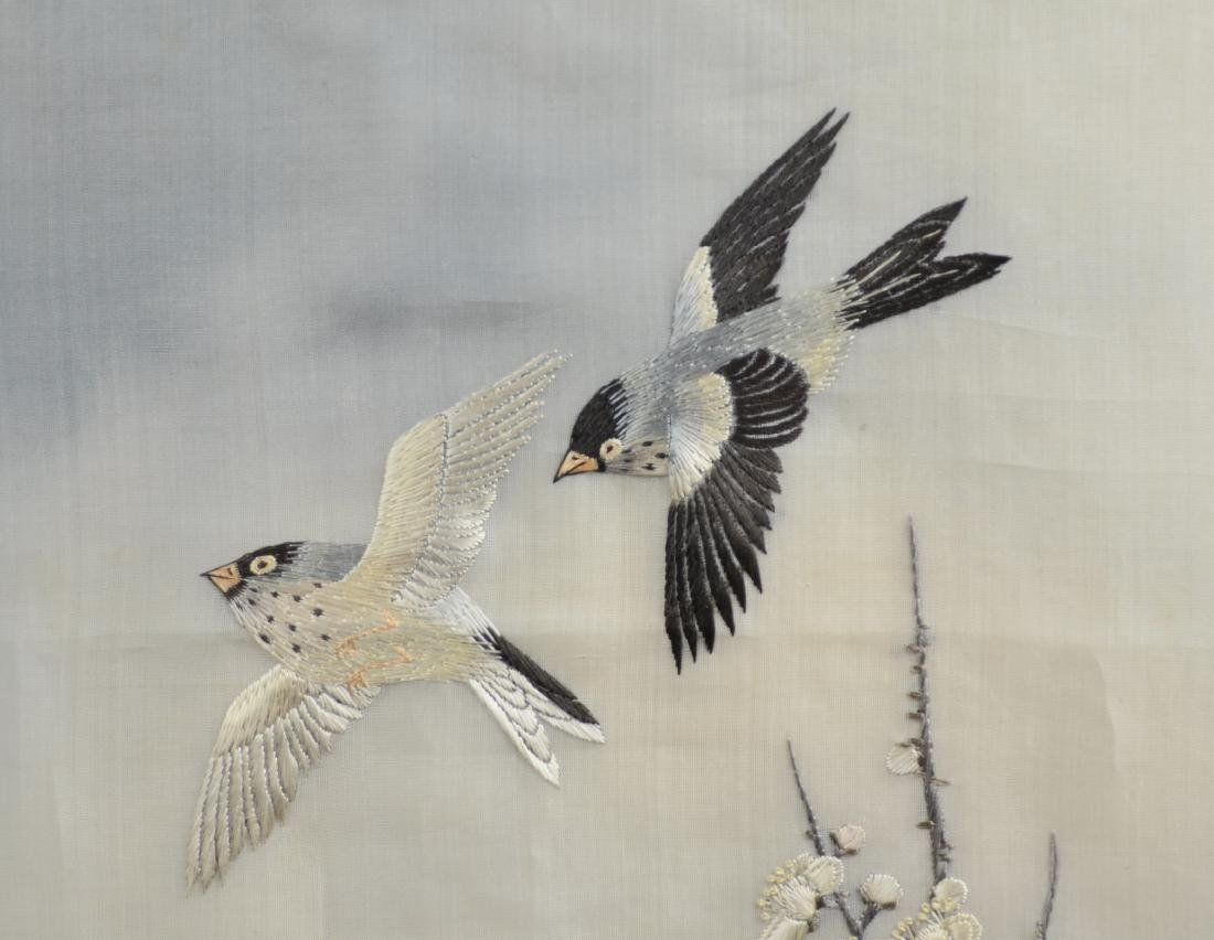 Asian embroidered panel - 4