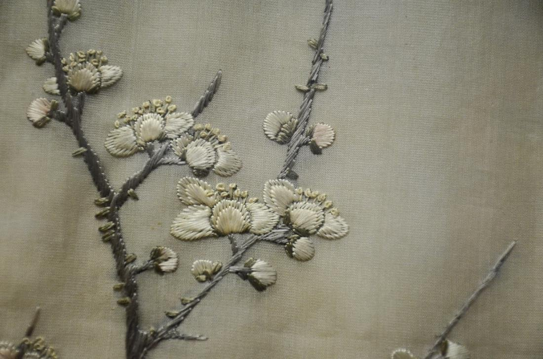 Asian embroidered panel - 7
