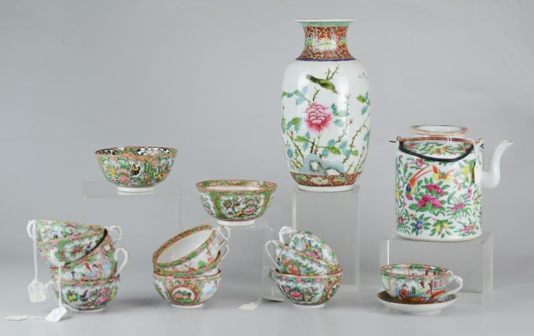 (17) pcs Chinese porcelain
