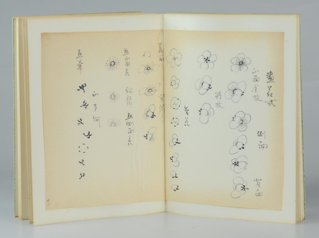 Bound book of 17 Asian Sumi drawings - 3