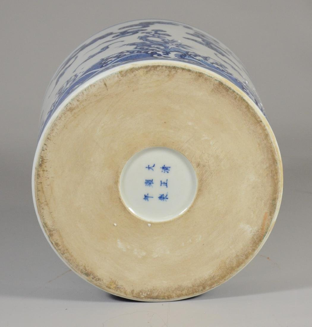 Chinese blue and white jar - 3
