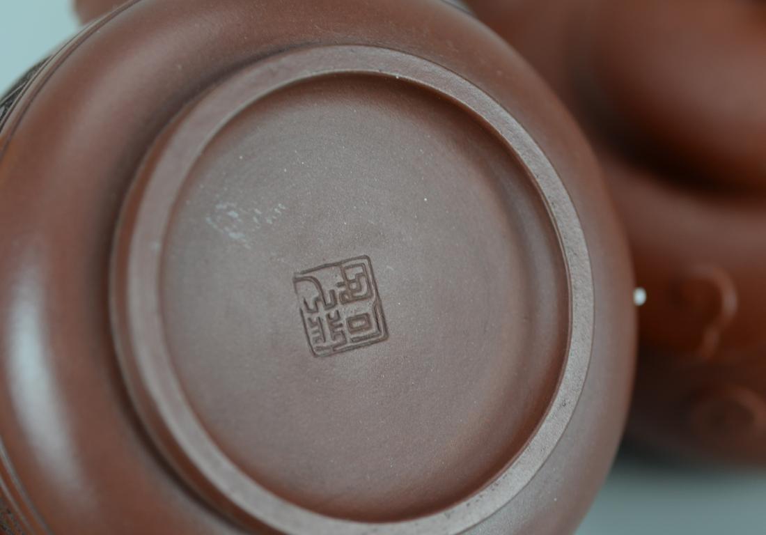 (2) Chinese Yixing teapots - 2