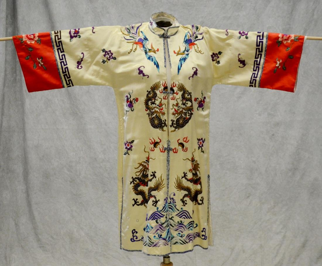 (2) Chinese embroidered pieces - 2