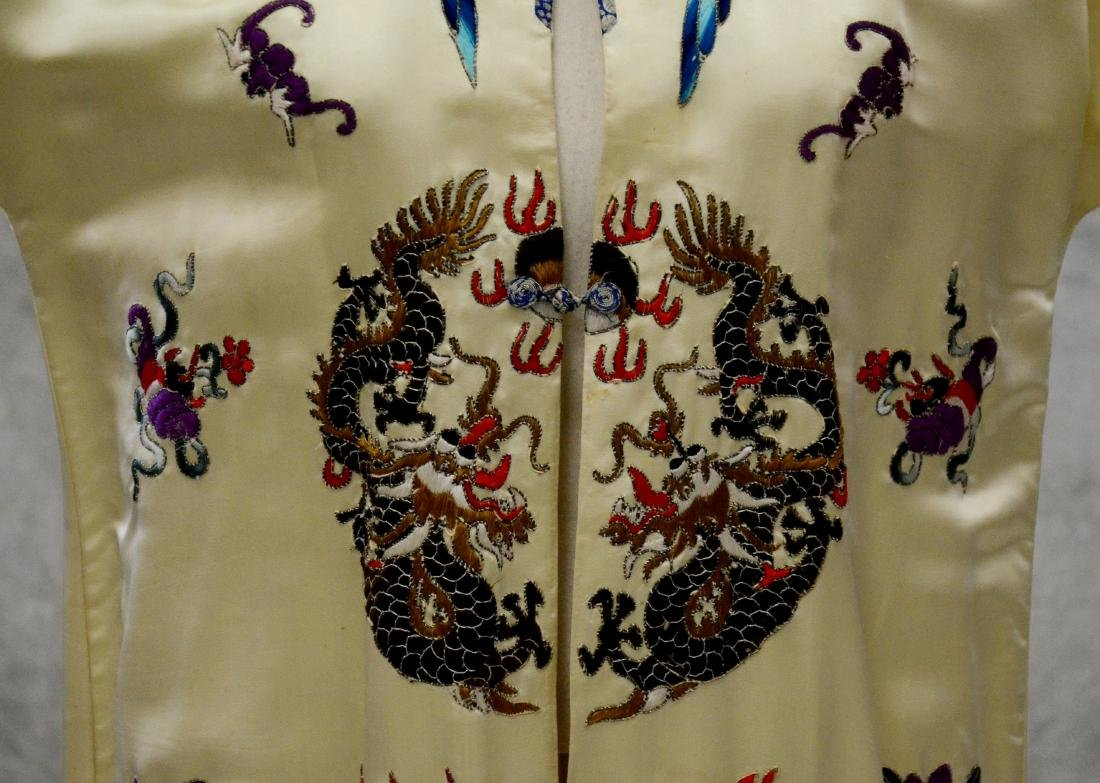 (2) Chinese embroidered pieces - 3