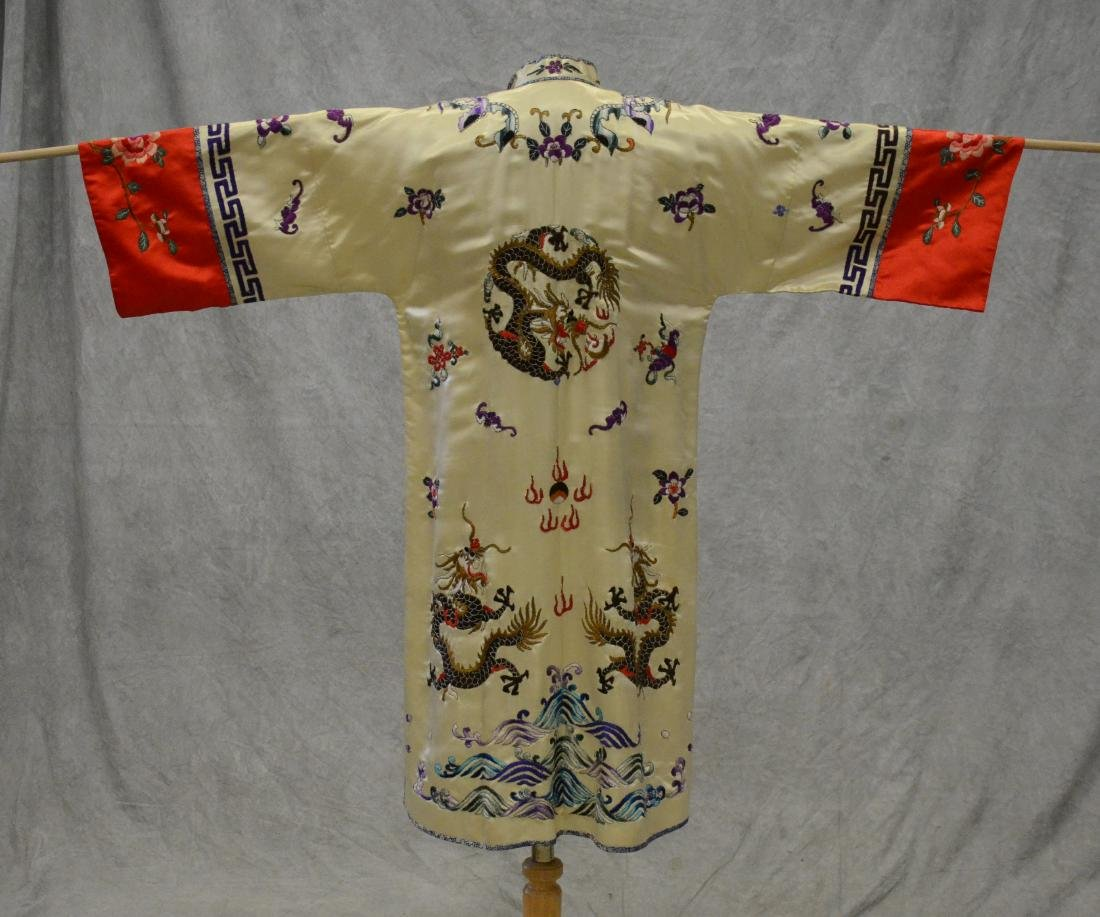 (2) Chinese embroidered pieces - 4