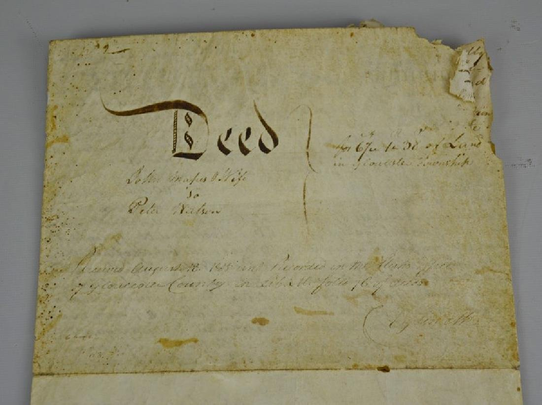 Indenture dated August 1808 for the purchase of land - 2