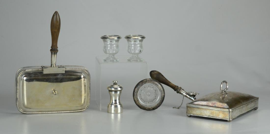 Lot of Sterling and Silver Plate