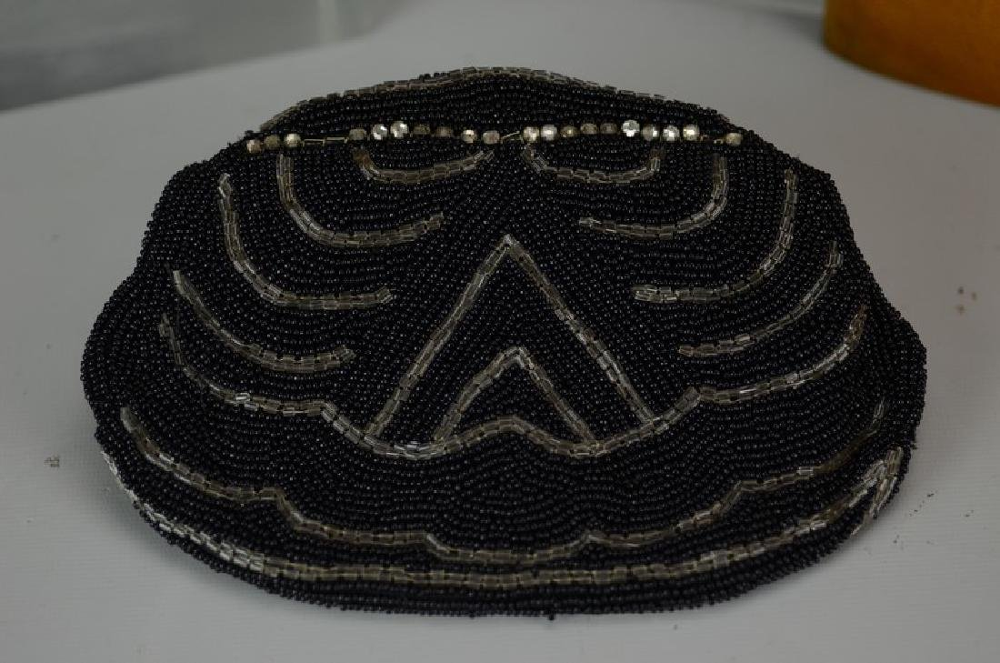 Leather & Sterling Silver Portfolio and Beaded Purse - 2