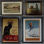 4 Framed Prints and Posters