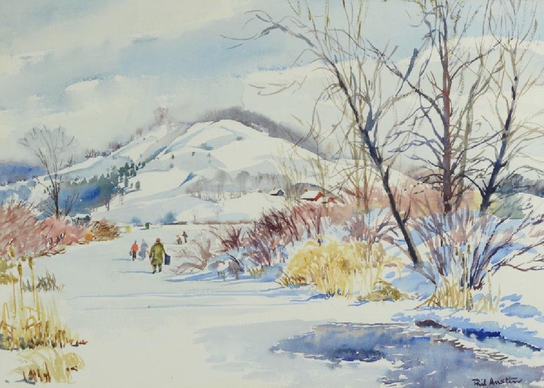 Austin watercolor