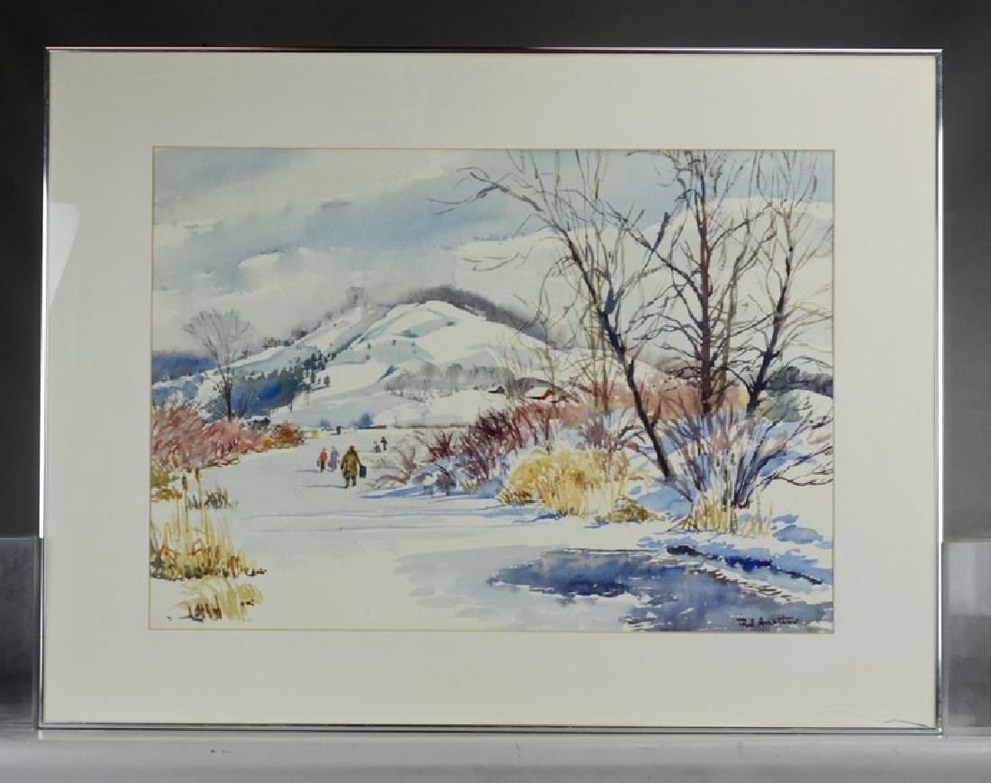 Austin watercolor - 2