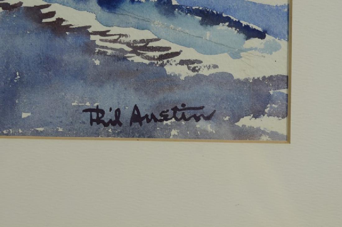 Austin watercolor - 3