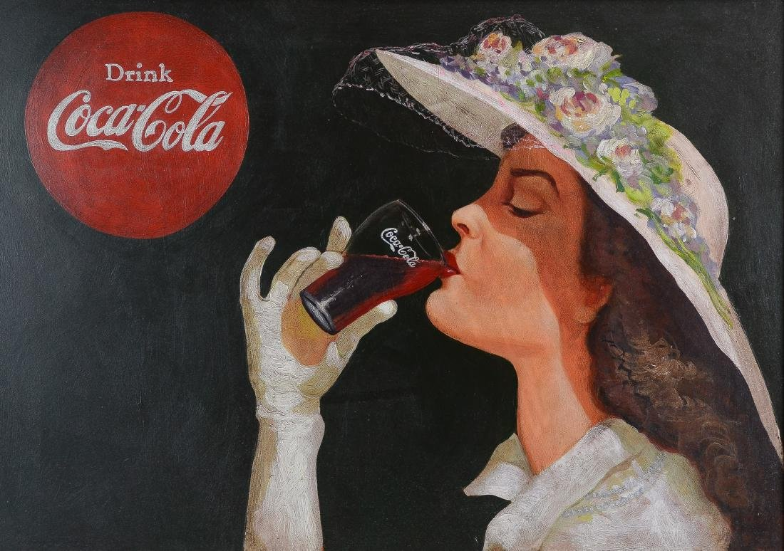 Illustration painting for Coca-Cola