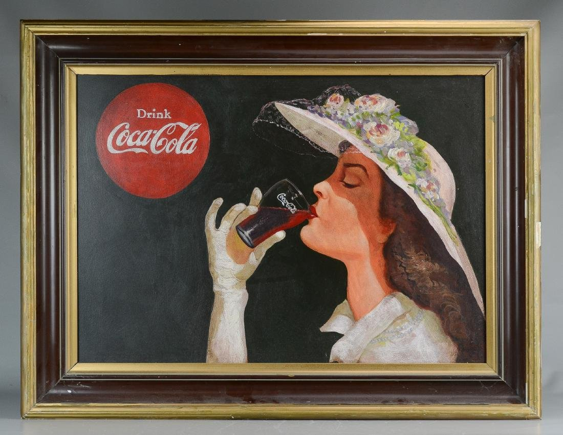 Illustration painting for Coca-Cola - 2