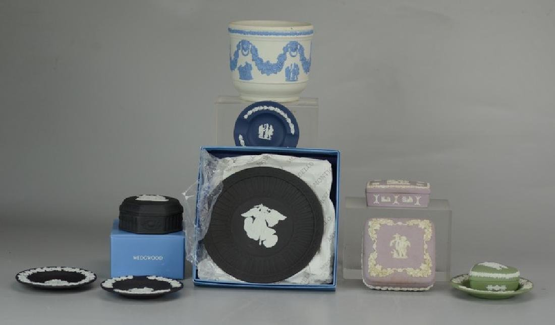(10) pcs Wedgwood Jasperware