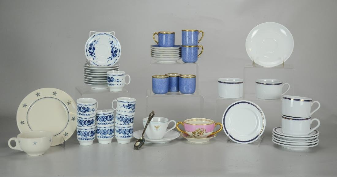 Large Lot of Cup & Saucers