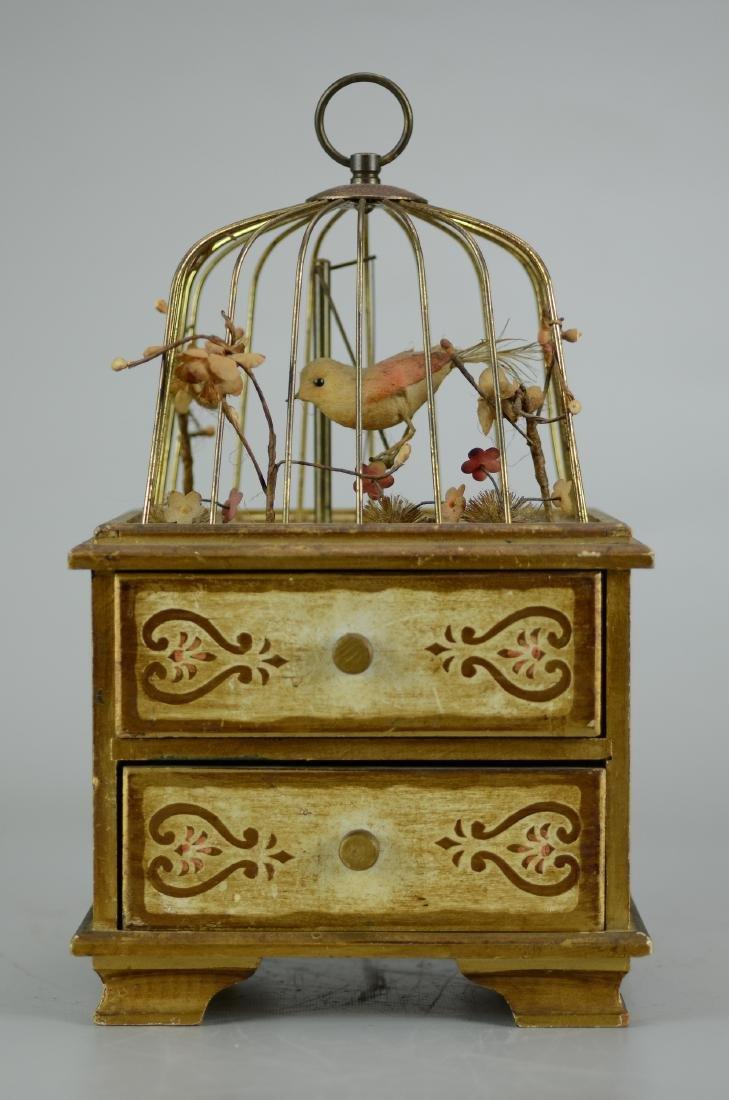 Birdcage Jewelry Music Box