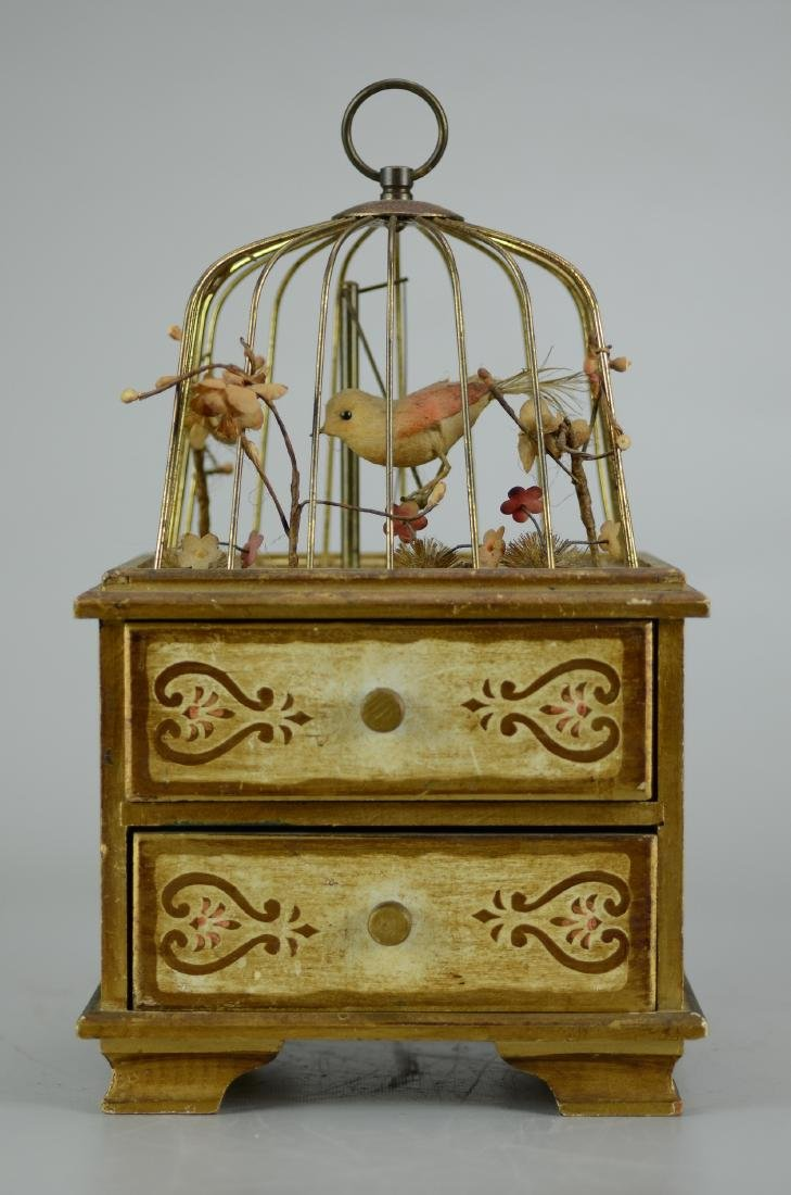 Birdcage Jewelry Music Box