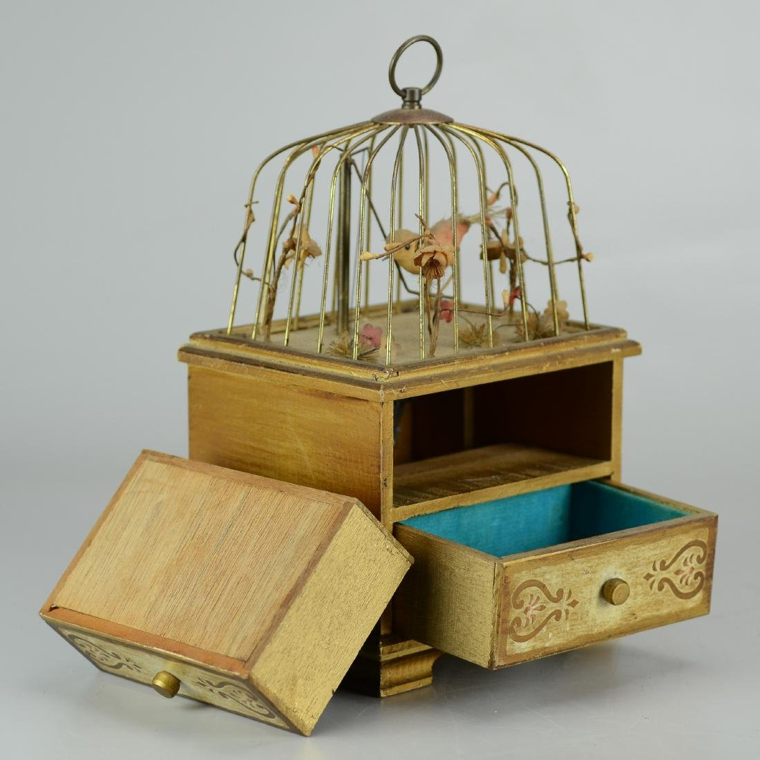 Birdcage Jewelry Music Box - 2