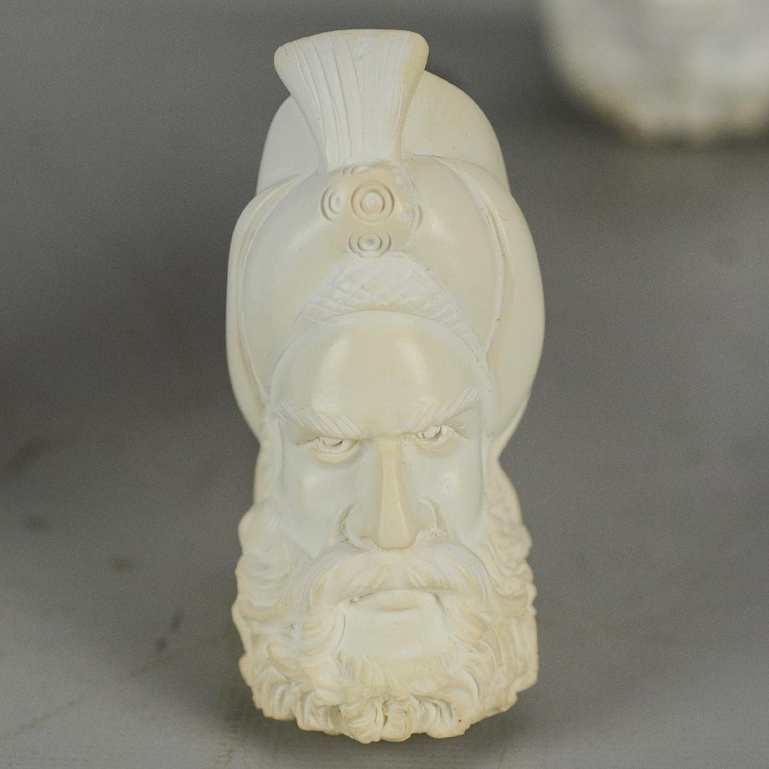 (4) Meerschaum Style Pipes - 4