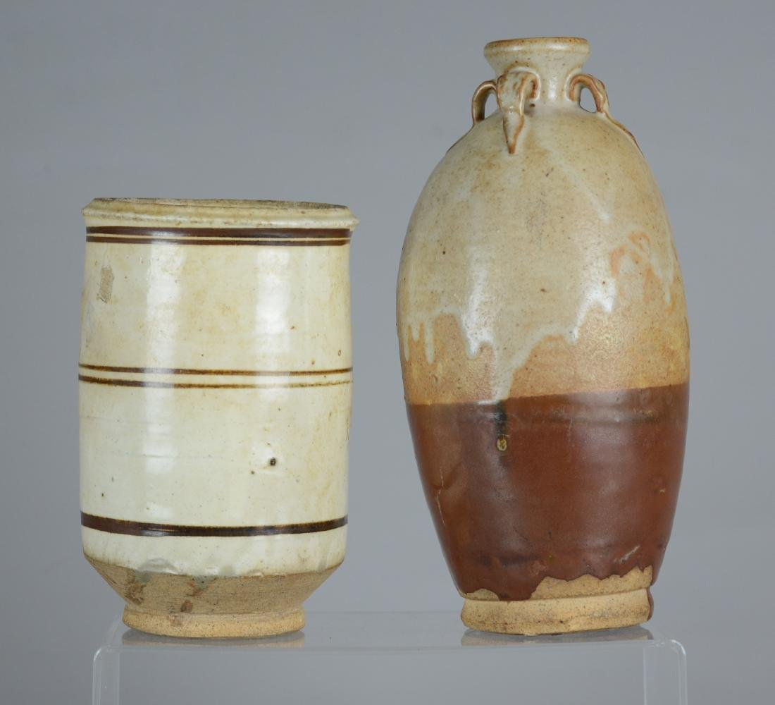 (2) Pieces Chinese style pottery
