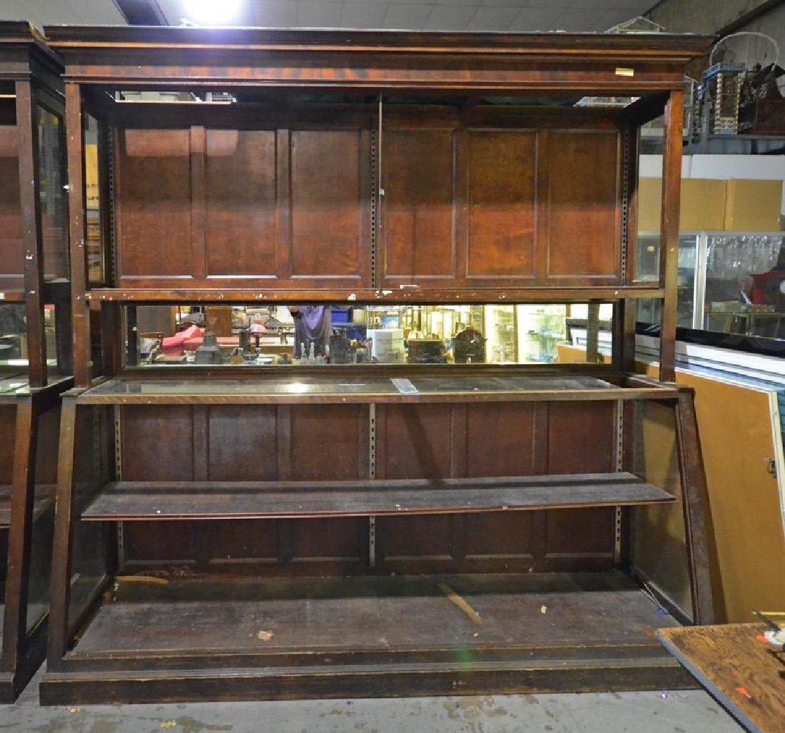Oversized open bookcase