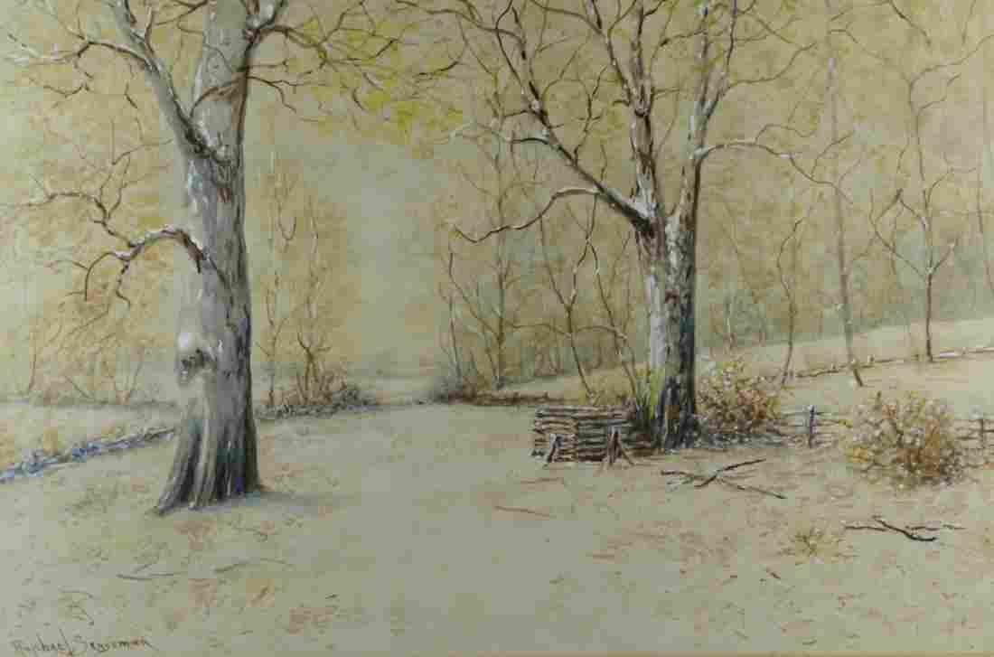 Raphael Senseman Landscape Watercolor Painting