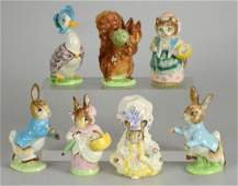 (7) Beswick Beatrix Potter Figurines