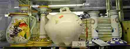 Shelf Lot 26 porcelain