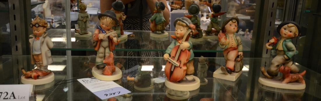 Shelf #72A - (5) Hummel figurines