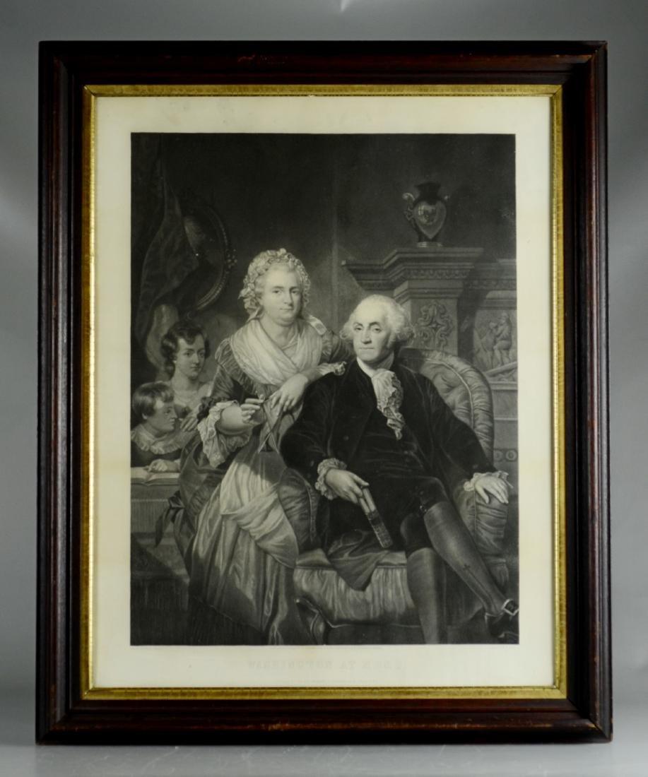 "Henry Bryan Hall (American, 1808-1884), ""Washington at - 2"