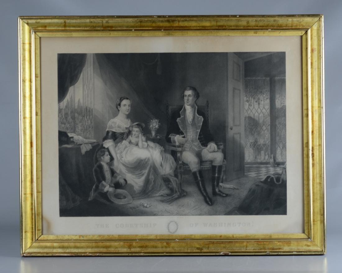 "John C. McCrae (American, active 1850), ""The Courtship - 2"