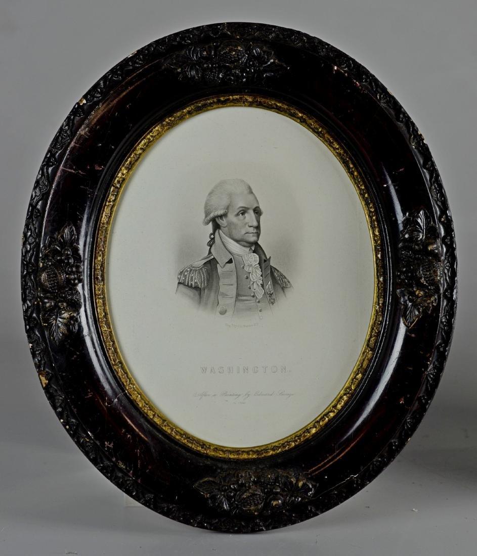 Pr Stipple Engravings of George Washington - 2