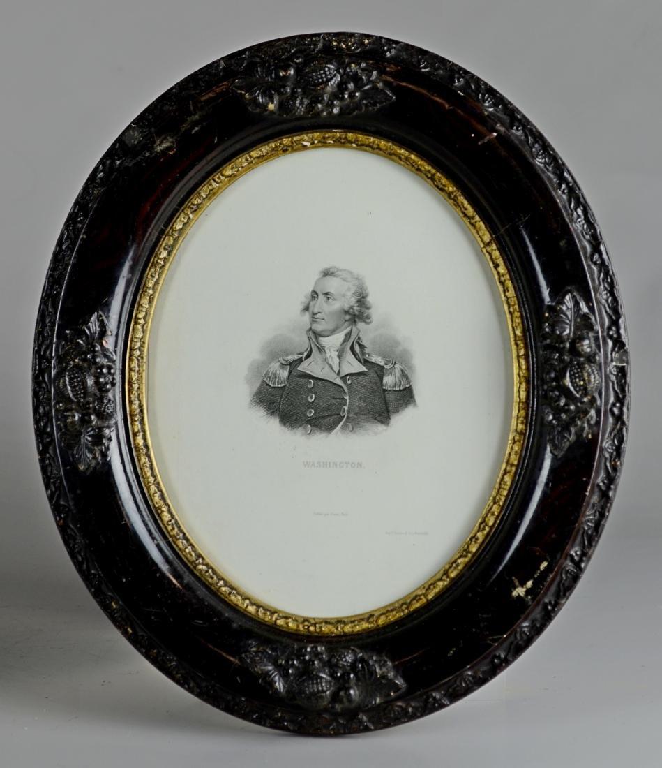 Pr Stipple Engravings of George Washington - 3