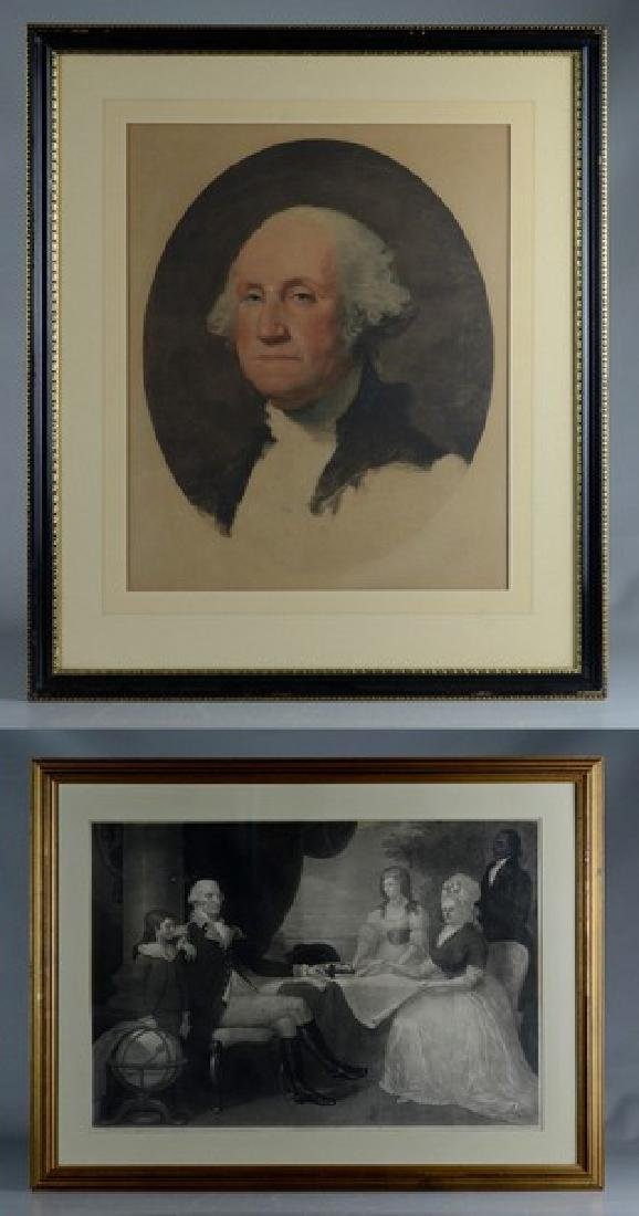 Pr George Washington prints