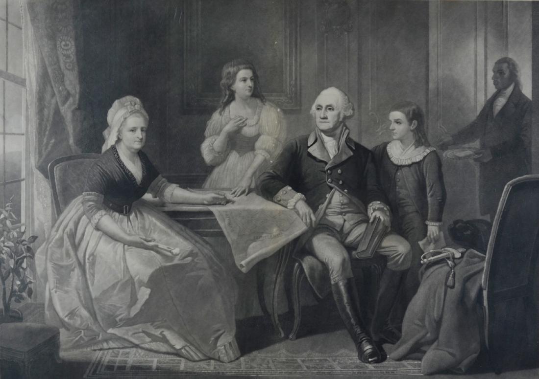 John Sartain (English, 1808-1897), aquatint etching